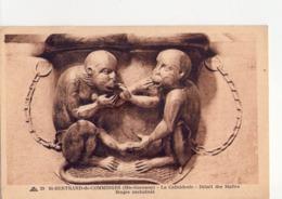 CPA - 31 - 11 - SAINT BERTRAND DE COMMINGES - LA CATHEDRALE - DETAIL DES STALLES - SINGES ENCHAINES - N° 39 - - Saint Bertrand De Comminges