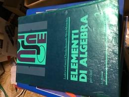 ELEMENTI DI ALGEBRA 2 - Libri, Riviste, Fumetti