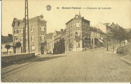 Bomel - Namur -- Chaussée De Louvain   ( 2 Scans ) - Namur