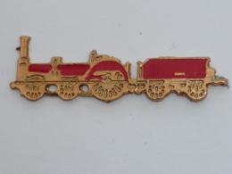 Pin's LOCO ET TANDER ROUGE - TGV
