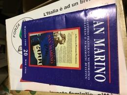 SAN MARINO BOLLETTINO FILATELICO NUMERO 20 - Libri, Riviste, Fumetti