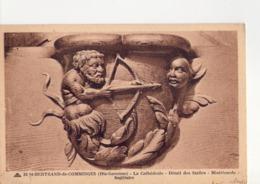CPA - 31 - 12 - SAINT BERTRAND DE COMMINGES - LA CATHEDRALE - DETAIL DES STALLES - MISERICORDE - SAGITTAIRE - N° 34 - - Saint Bertrand De Comminges