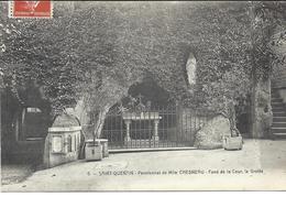 Saint Quentin Pensionnat De Mlle Chesneau Fond De La Cour ,la Grotte - Saint Quentin