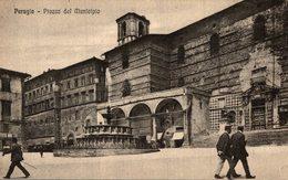 PERUGIA PIAZZA DEL MUNICIPIO - Perugia