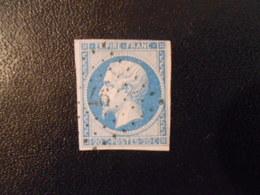 FRANCE YT14B NAPOLEON III, EMPIRE.FRANC 20c.bleu Type II Losange PC 647 - 1853-1860 Napoleon III