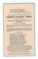 DP JOSEPH EVARIST TORFS Geboren Begijnendijk 1936,zoontje V Theophiel Leonard En Maria MATTHEUS,gestorven 1943 - Religion & Esotericism