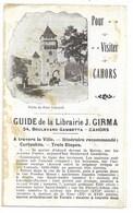 46-CAHORS-Guide Touristique 8,5x14... (rousseurs) - Cahors