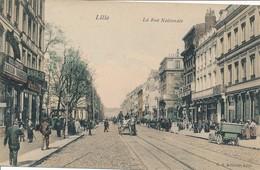 Lille CS Couleur La Rue Nationle Superbe état Neuf - Lille