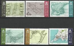 Île De Man 2007  Yvertn° 1414-1419 *** MNH Cote 13 € Maps - Man (Ile De)