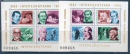 Romania 1983 --INTEREUROPA  BF --   **MNH - 1948-.... Republics