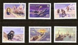 Ile De Man 2007 Yvertn° 1420-1425 *** MNH Cote 16 Euro Faune Polar Year - Isle Of Man