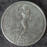 4064 Vz 1981 En Standbeeld Brabo - Kz Antwerpen 50 Brabo's - Gemeentepenningen