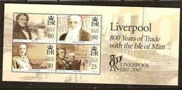 Ile De Man 2007 Yvertn° Bloc 66 *** MNH Liverpool Cote 10 € - Isle Of Man