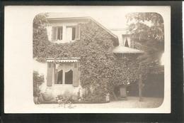 BELLE CARTE PHOTO - VERSO: écrit à L'encre,  VILLA St RAPHAEL -- LE POULIGUEN - Le Pouliguen