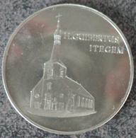 4065 Vz. H. Guibertus Itegem - Kz. Itegem 1986 - Gemeentepenningen