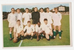 FOOTBALL EQUIPE CS VERVIERS 1962/1963 - Soccer