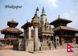 Nepal Bhaktapur Vatsala Devi Temple UNESCO New Postcard - Nepal