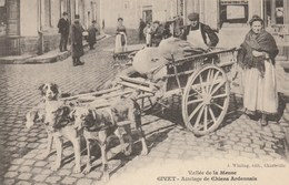 CPA - Attelage De Chiens Ardennais - Givet - Marchands Ambulants - TBE - Street Merchants
