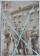 Photo ABL Carabinier Armée Belge Pre 1914 Soldat Officier Belgische Leger Armée Belge Militaria - Krieg, Militär