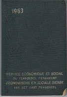 Agenda De Poche SERVICE ECONOMIQUE Et SOCIAL 1963 - Libros, Revistas, Cómics