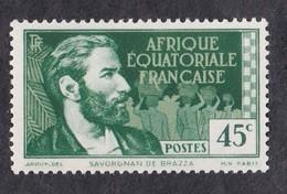Afrique Equatoriale   Y&T  N° 44   Neuf **   COTE 6.00_euros - A.E.F. (1936-1958)