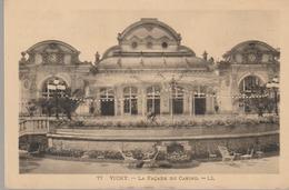 C. P. A. - VICHY - LA FACADE DU CASINO - L. L. - 77 - Vichy