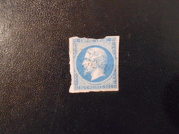 FRANCE YT14B NAPOLEON III, EMPIRE.FRANC 20c.bleu Type II Losange PC 4178 - 1853-1860 Napoleone III