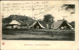 ETHIOPIE - Carte Postale - Diré Daoua - Campement De Voyageurs - Cp Envoyé De Djibouti En 1906 - L 51248 - Ethiopie