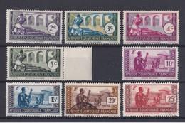Afrique Equatoriale   Y&T  N° 34 35 36 37 38 39 40  Et 77   Neuf ** - A.E.F. (1936-1958)