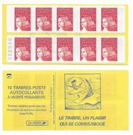 Carnet 3419-C3Ad Luquet Sans Phosphore Avec Numéro - Libretti