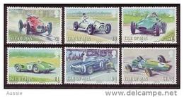 Ile De Man 2008 Yvertn° 1475-1480   ***  MNH Cote 17 Euro Racing Cars Automobiles - Man (Ile De)