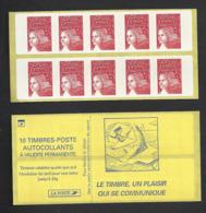 Carnet 3419-C3Ad Luquet Sans Phosphore - Freimarke