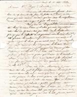 1818 SAINT-MALO - L.A.S. Apuril KERLOGNEN Fils à M. PUGET à Marseille - Hausse Des Prix - Historical Documents