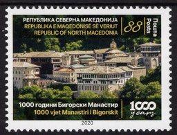 Macedonia - 2020 - Millennium Of St John Bigorski Monastery - Mint Stamp - Macedonia