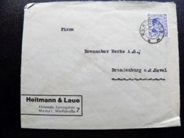 Cover Lithuania 1939 Klaipeda Memel President A.Smetona - Lithuania