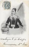 DUNKERQUE -  1904 -   PECHEUSE DE CREVETTES MARDIKOISE - Dunkerque