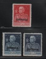 1925-26 Cirenaica Giubileo Del Re MLH - Cirenaica