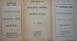 3 Suppléments Catalogue Général LIEBIG 1949-50-51-52 Chromo - Non Classés
