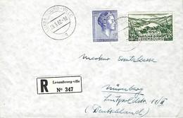 Luxembourg  -  FDC  -  29.3.1962  -  Lettre Recommandé - FDC