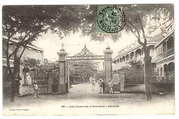 VIET NAM - SAIGON - Hô Chi Minh-Ville - Les Casernes D' Artillerie - Ed. Planté, Saigon - Vietnam