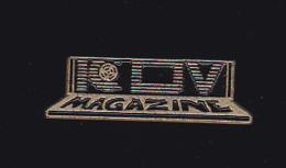 61400- Pin's- ICDV Magazine...Presse.journal.magazine. .medias. - Médias