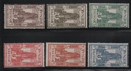 1926 Cirenaica Pro Istituto Coloniale Serie Cpl MLH - Cirenaica