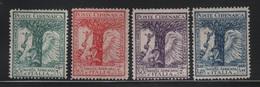 1928 Cirenaica Pro Società Africana Serie Cpl MLH - Cirenaica