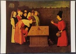 Ak Gemälde , Painting - Der Zauberer  - Jerome Bosch - Malerei & Gemälde