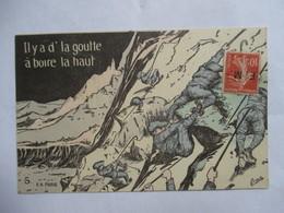 ORENS  -  CHASSEURS  ALPINS  -  IL  Y  A  D' LA GOUTTE      ....         TTB - Orens