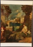 Ak Gemälde , Painting - Der Sturm  - Giorgione - Malerei & Gemälde
