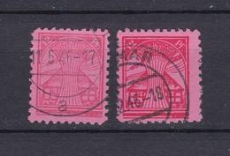 Mecklenburg-Vorpommern - 1945/46 - Michel Nr. 19 X/y - Gest. - 58 Euro - Sowjetische Zone (SBZ)