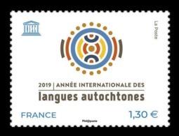 France (UNESCO) 2019 Mih. 82 International Year Of Indigenous Languages MNH ** - Dienstpost