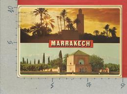 CARTOLINA VG MAROCCO - MARRAKECH - Vedutine Multivue - 10 X 15 - 1967 - Marrakech