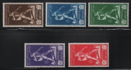 Cirenaica 1930 Pro Istituto Coloniale Serie Cpl MLH - Cirenaica